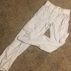 Med Couture white scrub pants